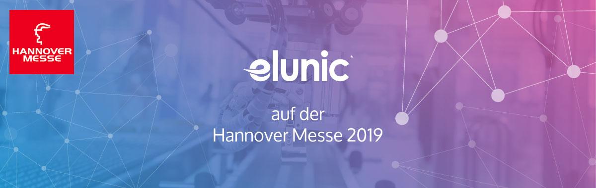 elunic bei der Hannover Messe 2019