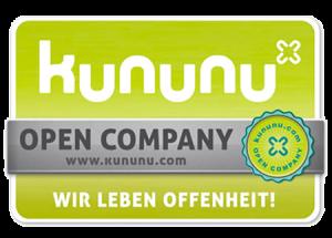 Kununu Open Company Badge