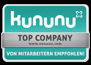 Kununu Top Company Badge